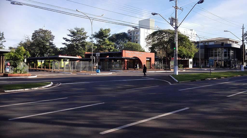 Автобусная остановка Terminal de Transporte Urbano
