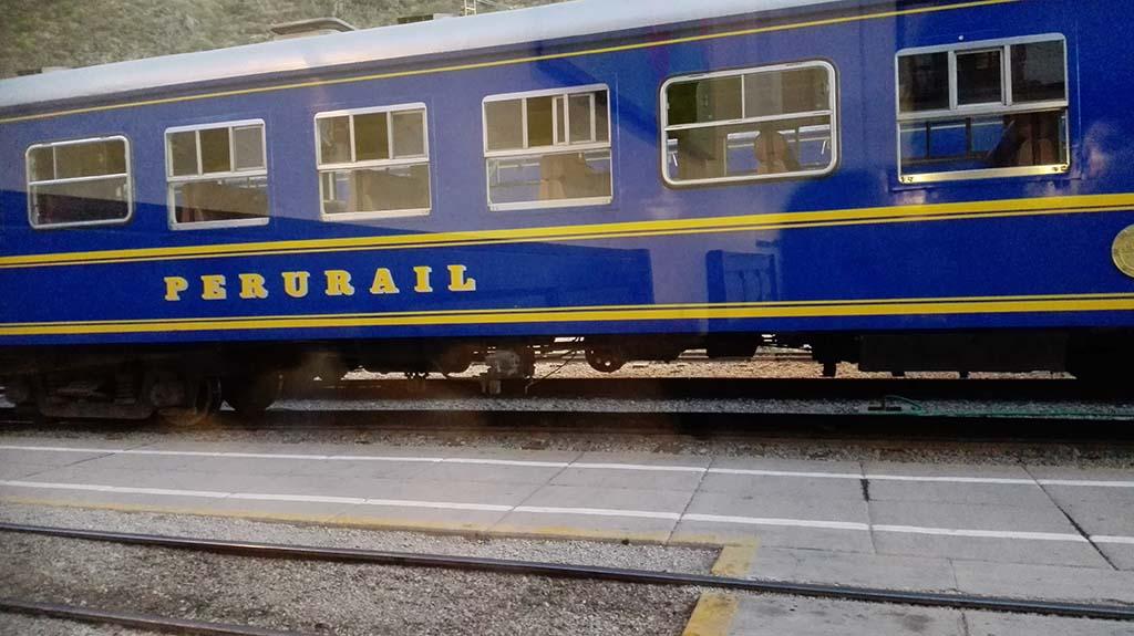 Peru Rail | Станция Ольянтайтамбо