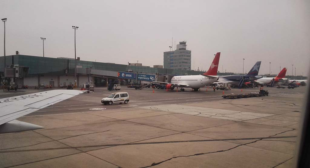 Международный аэропорт Хорхе Чавес