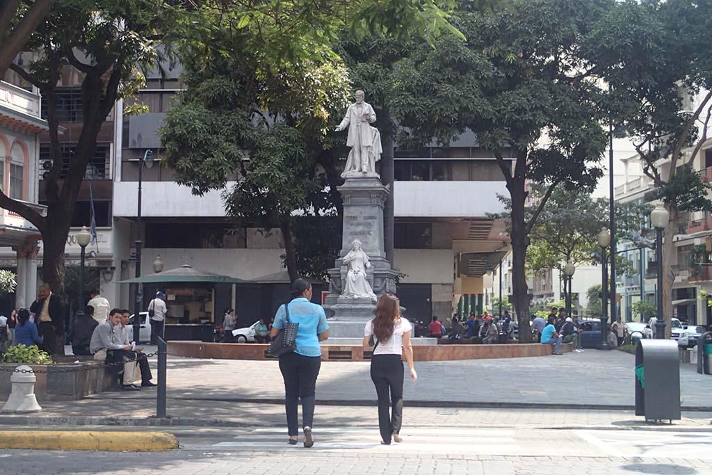 Памятник Pedro Carbo