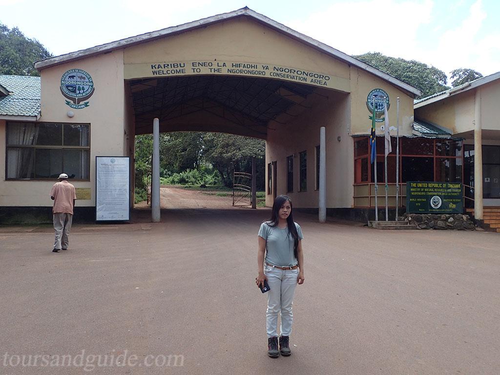 Ворота Lodoare, Нгоронгоро