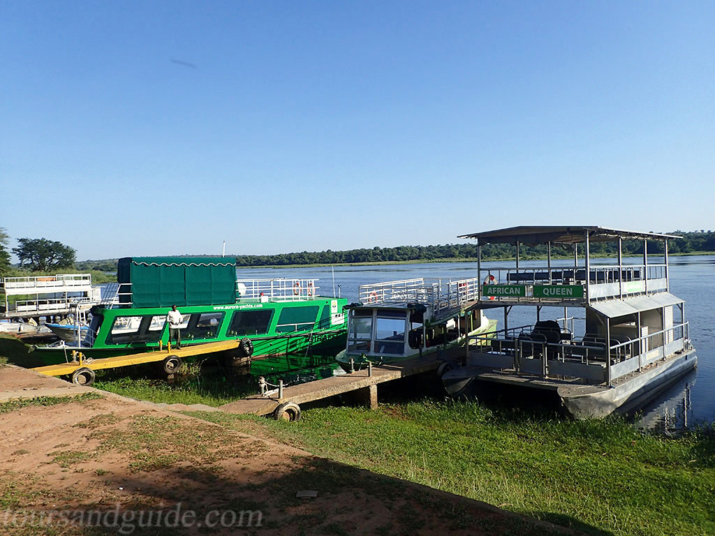 Paraa Ferry, Мерчисон Фоллс