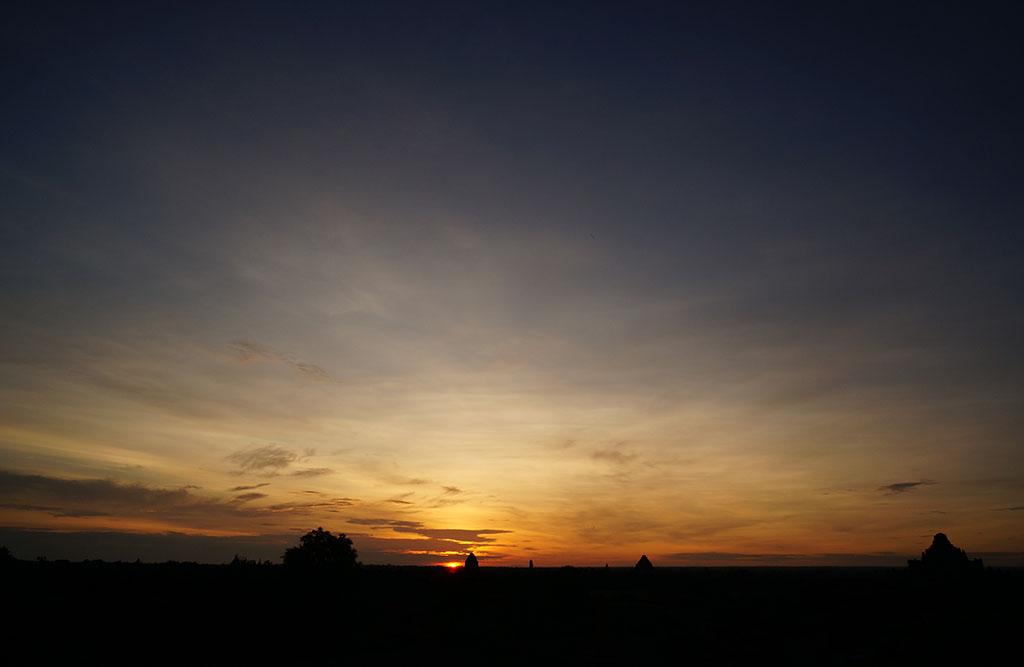 Восход солнца в Swesandau Paya