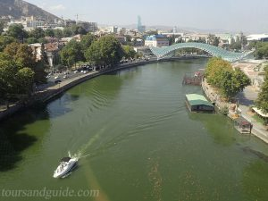Канатная дороге в Тбилиси