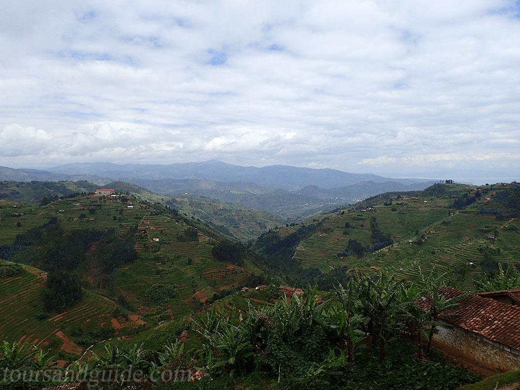Пейзажи Руанды