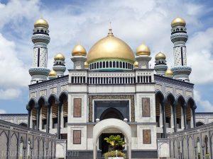 Jame' Asr Hassanil Bolkiah Mosque (Бруней)