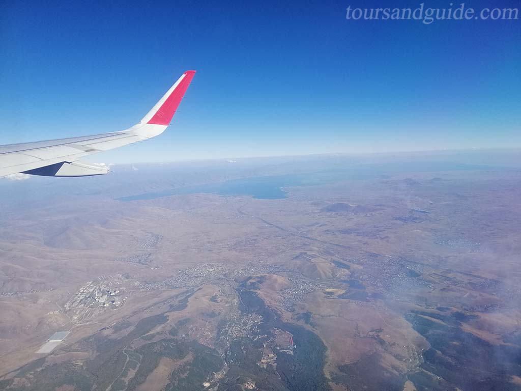 Армения, вид из самолета