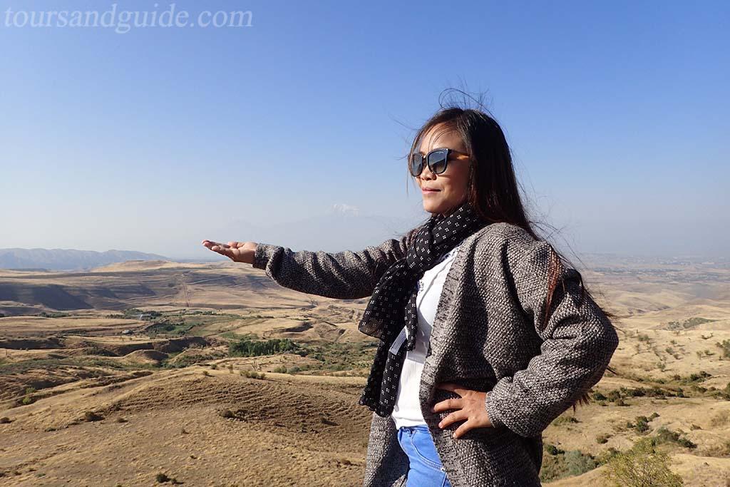 Гора Арарат (вид со стороны Армении)