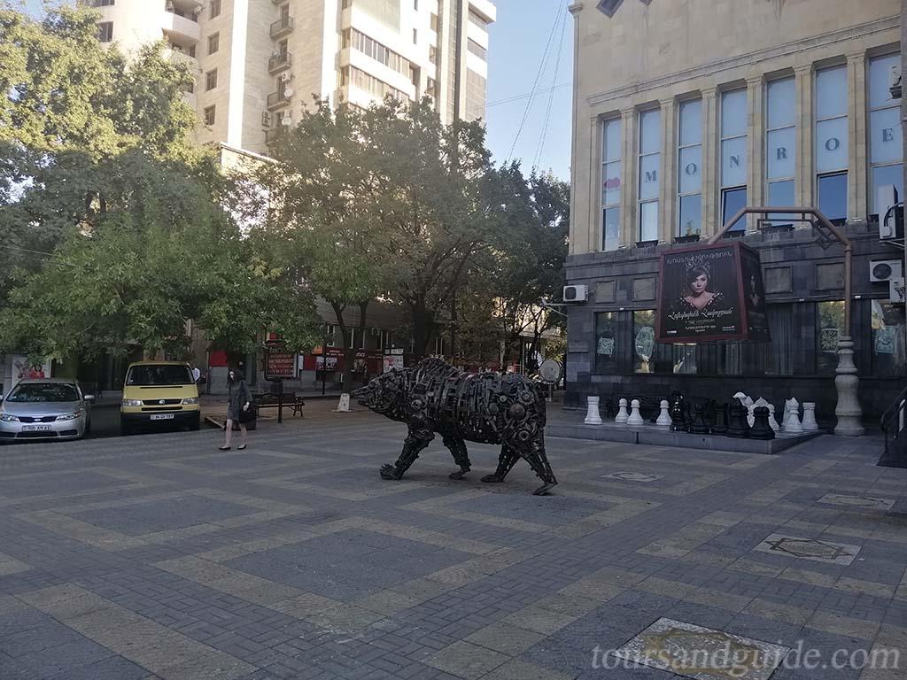 Charles Aznavour square