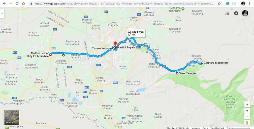 Тур по Окрестностям Еревана