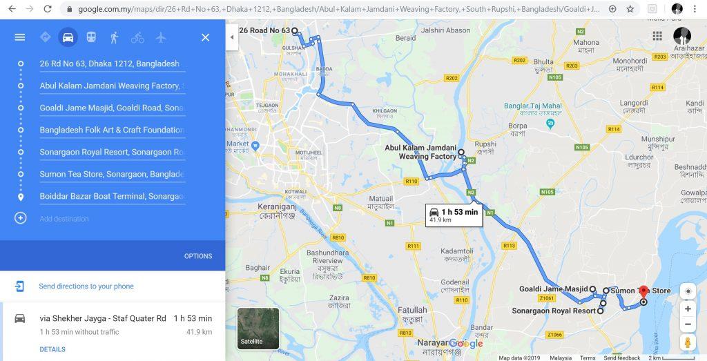 Экскурсия по Окрестностям Дакки